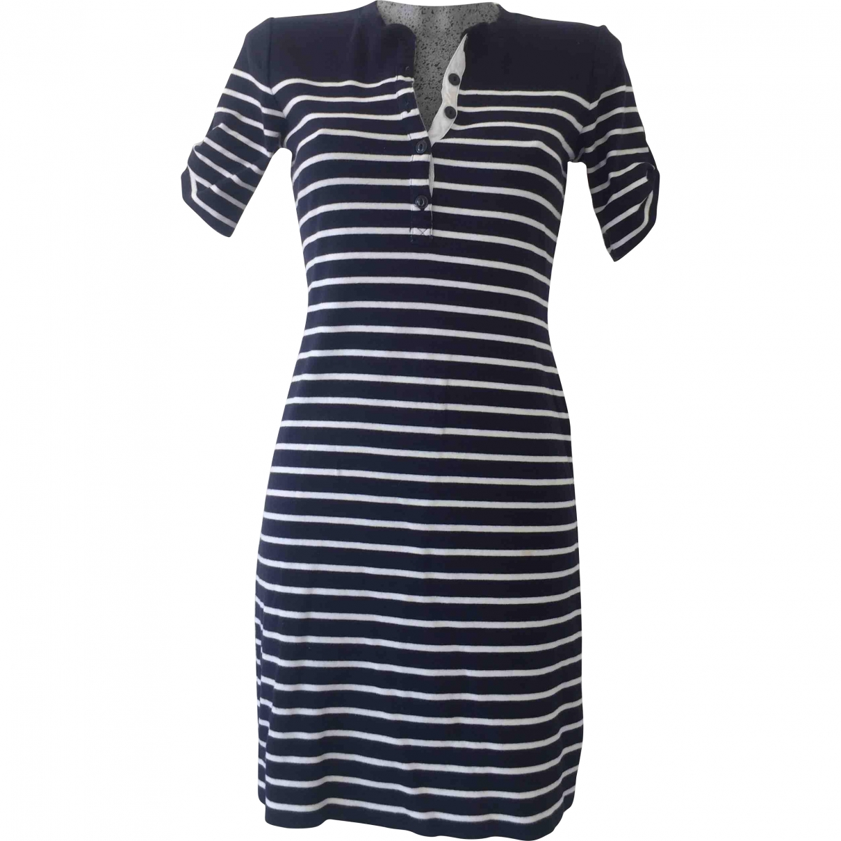 Ralph Lauren Denim & Supply \N Blue Cotton - elasthane dress for Women S International