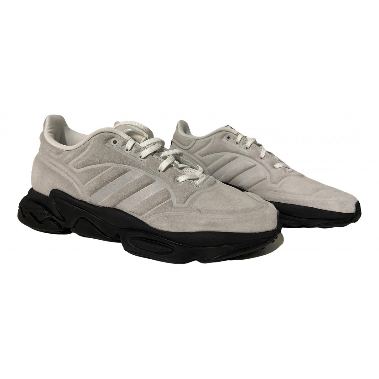 Adidas \N Grey Suede Trainers for Men 40.5 EU