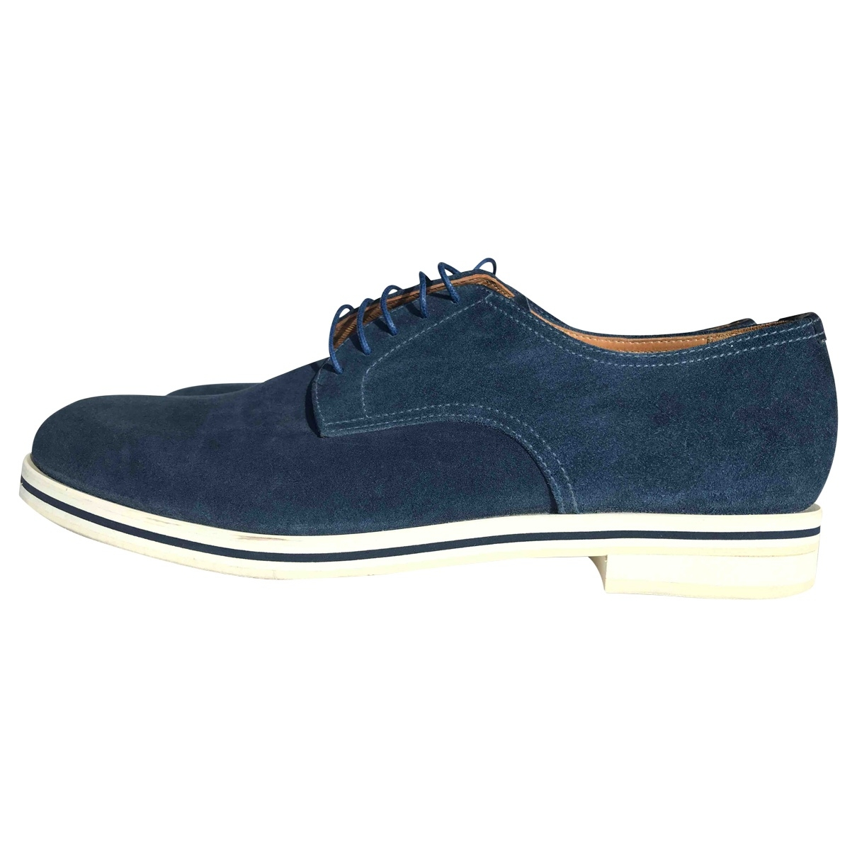 Church's \N Blue Suede Lace ups for Men 8.5 UK