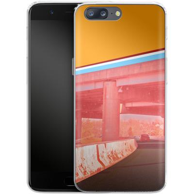 OnePlus 5 Silikon Handyhuelle - Bridge von Brent Williams