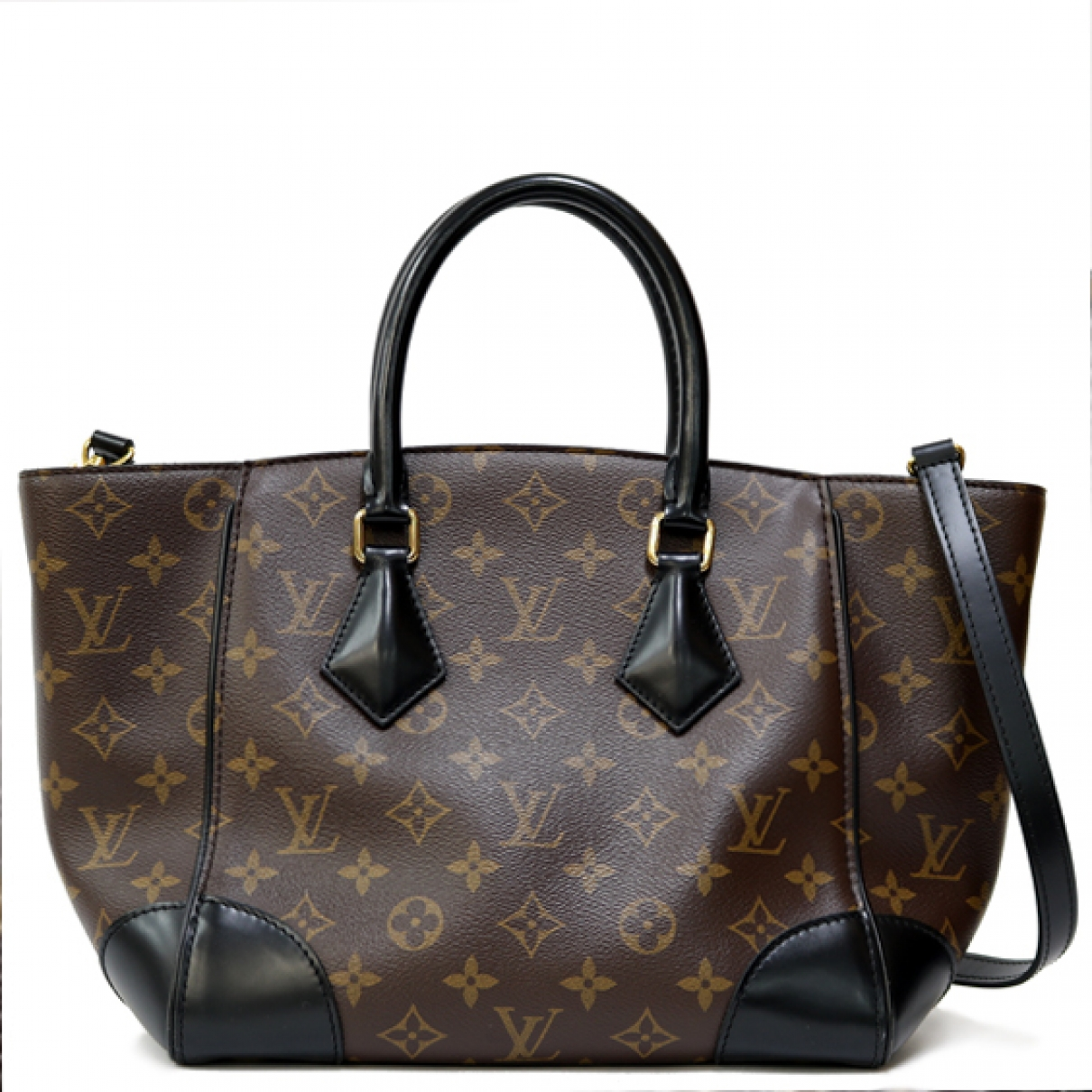Louis Vuitton Phenix Brown Cloth handbag for Women \N
