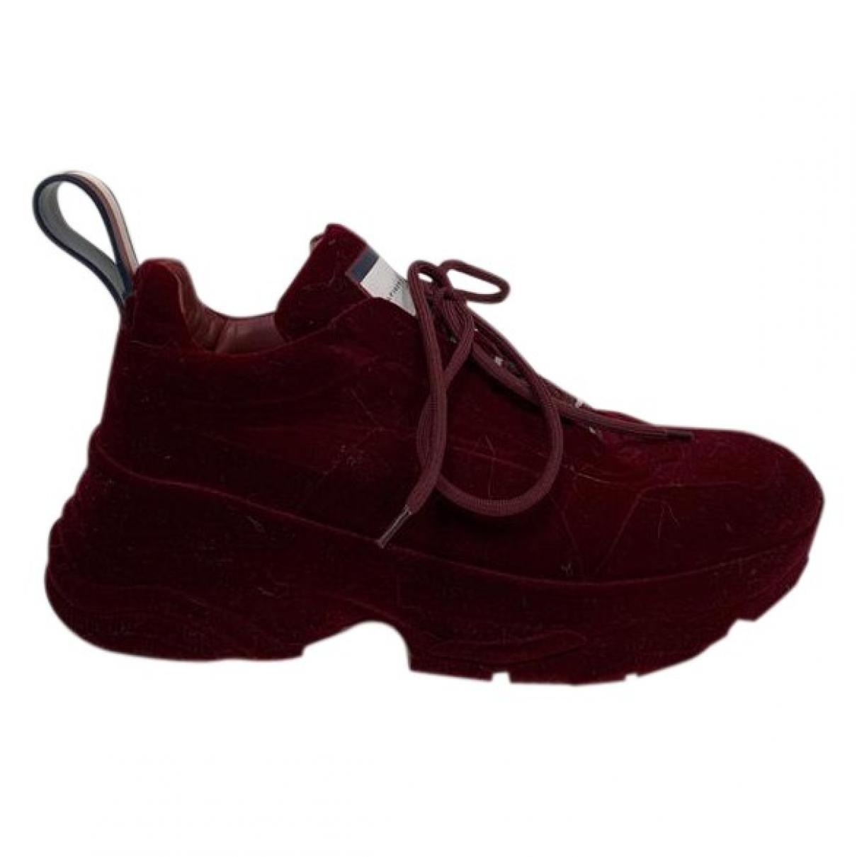 Hilfiger Collection N Burgundy Trainers for Men 40 EU