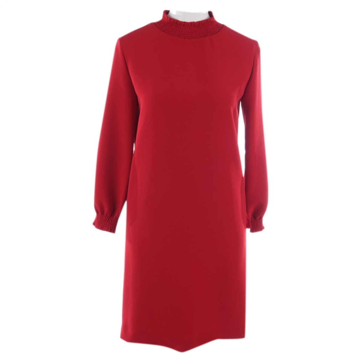 Apc \N Red Leather dress for Women 36 FR