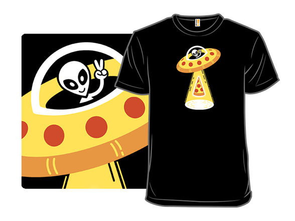 Pizza Saucer T Shirt