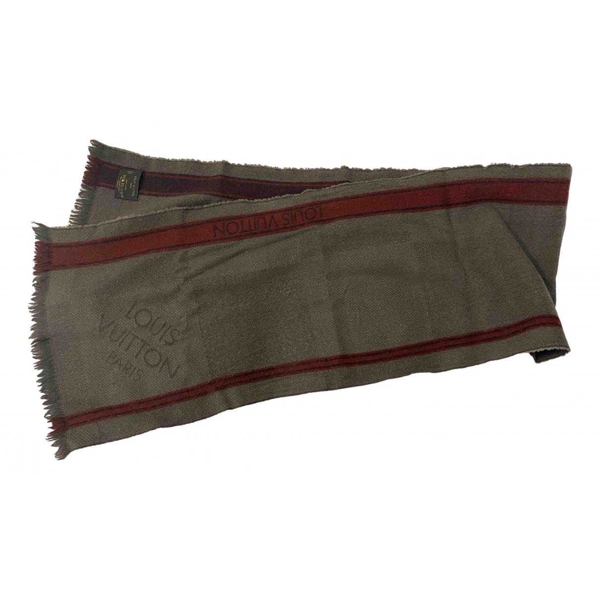 Louis Vuitton - Cheches.Echarpes   pour homme en laine - kaki