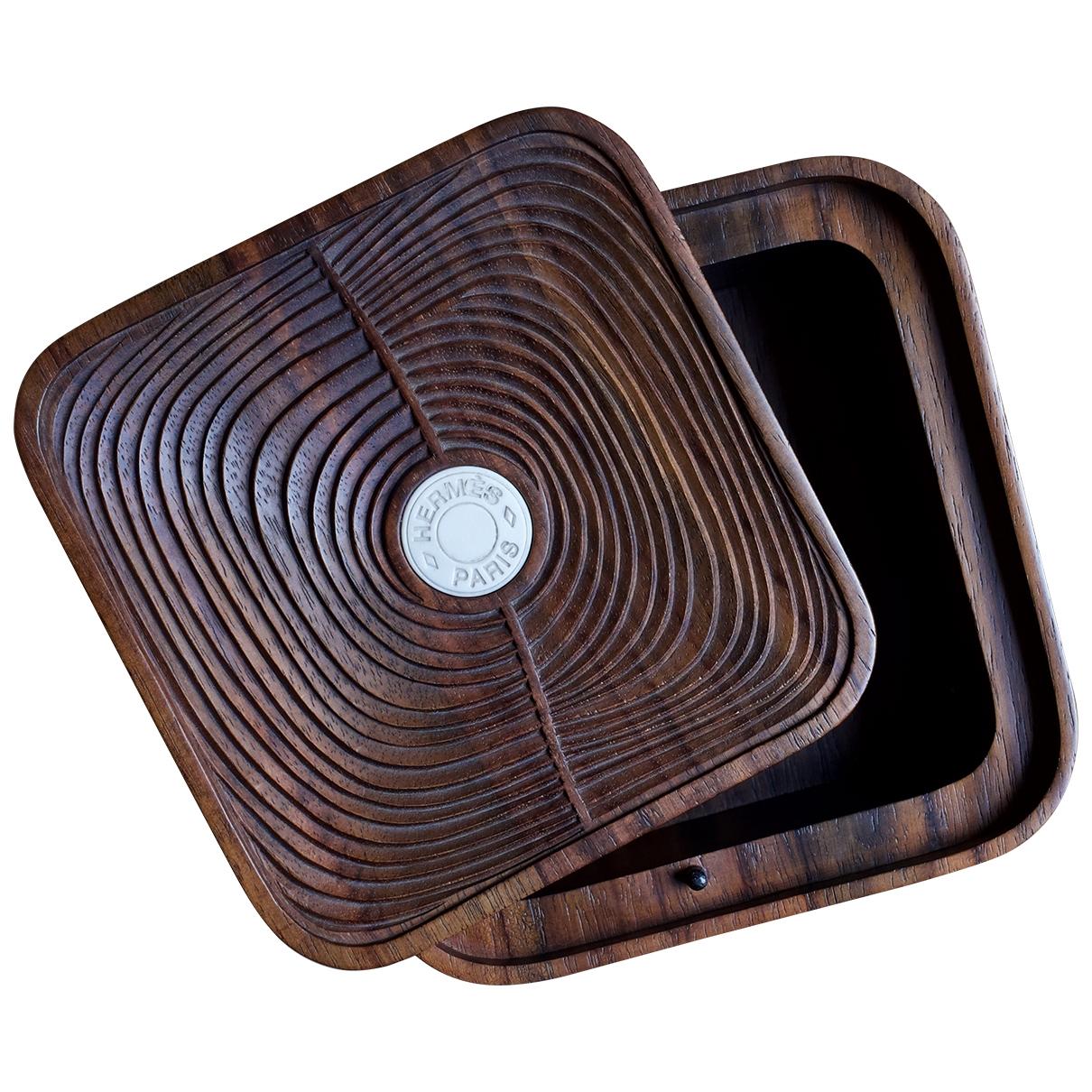 Hermes - Objets & Deco   pour lifestyle en bois - marron