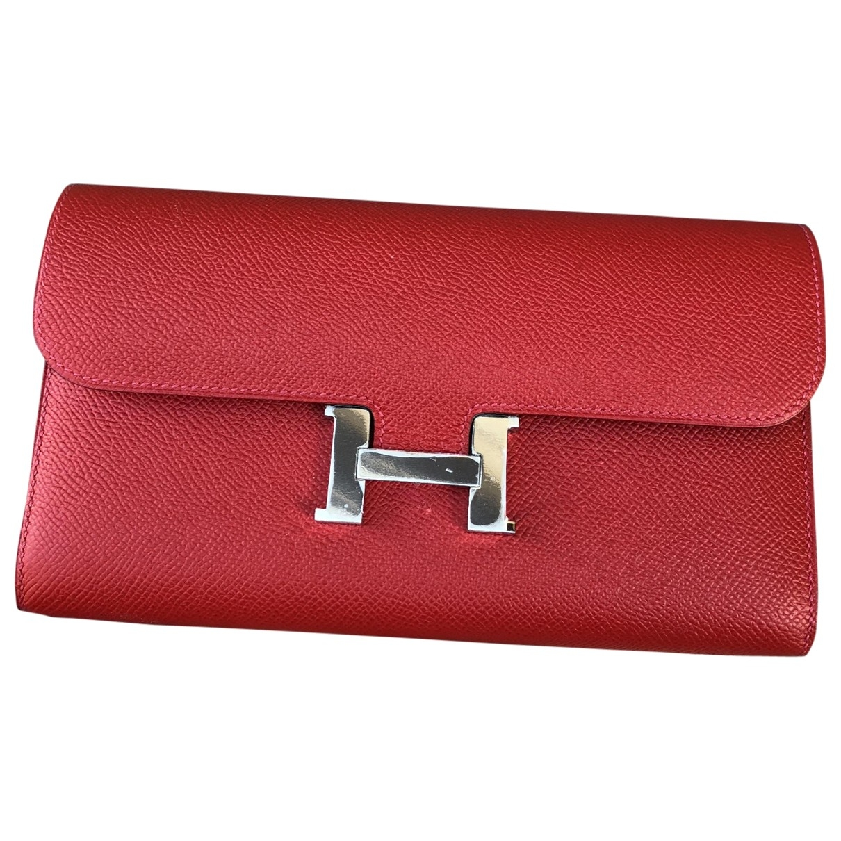 Hermès Constance Red Leather wallet for Women \N