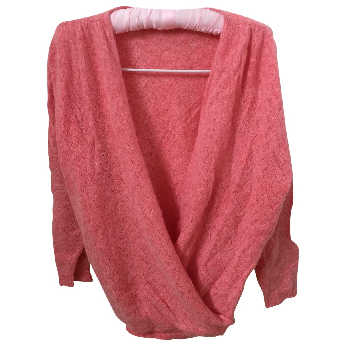 Brora - Pull   pour femme en cachemire - rose