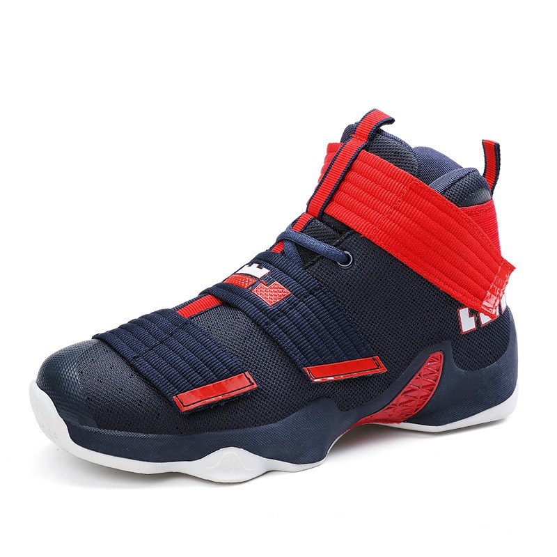 Ericdress Color Block Velcro Patchwork Men's Athletic Shoes