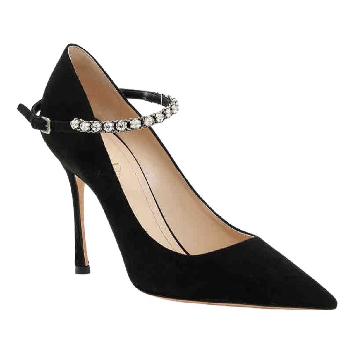 Dior \N Pumps in  Schwarz Leder
