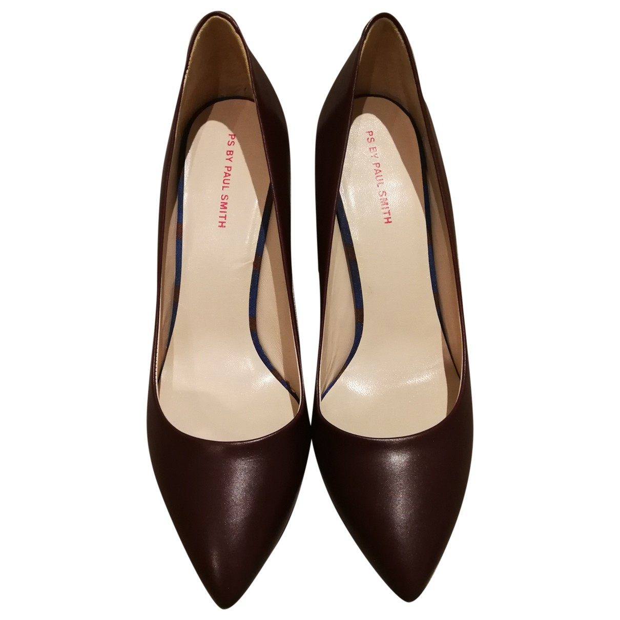 Tacones de Cuero Paul Smith