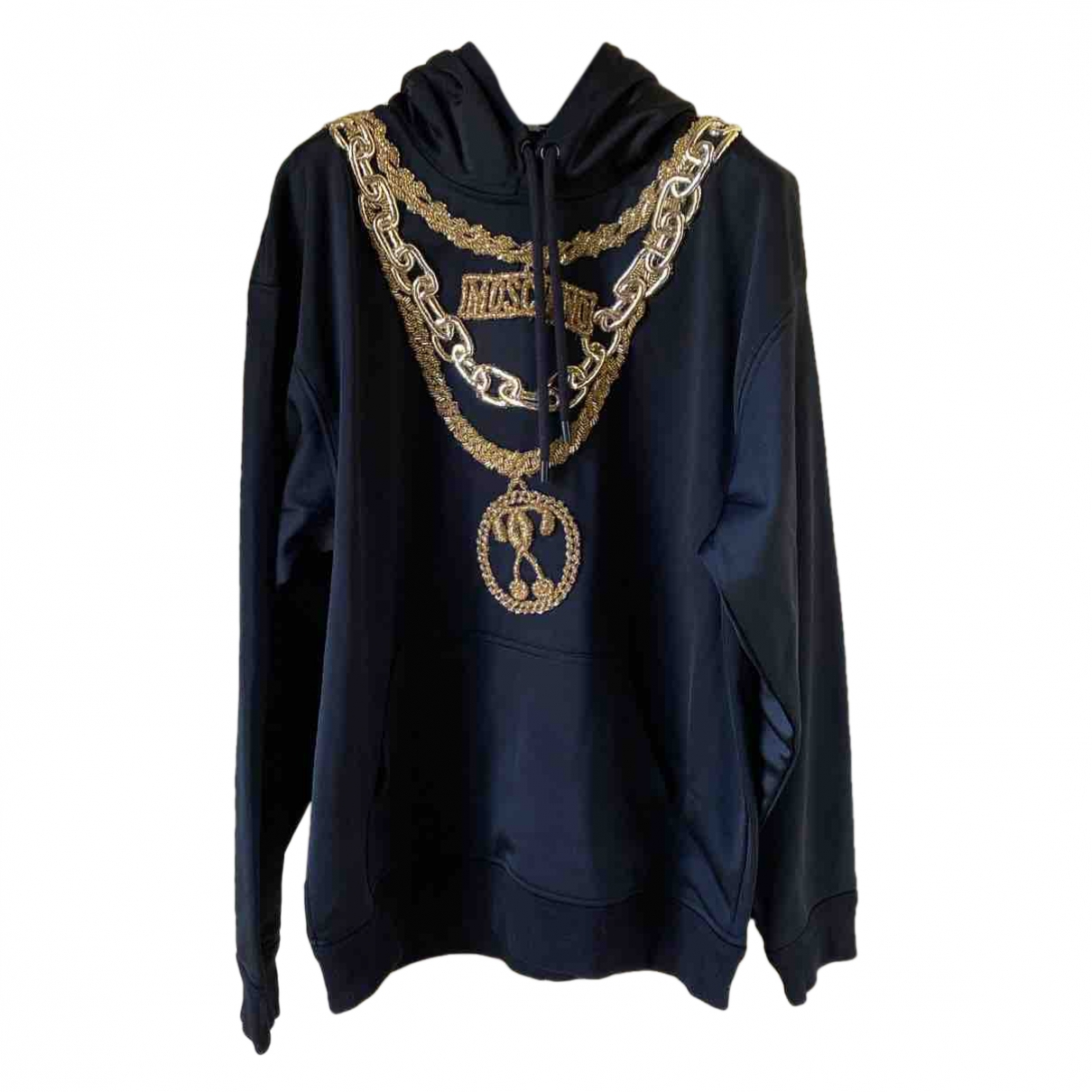 Moschino For H&m \N Pullover in  Schwarz Polyester