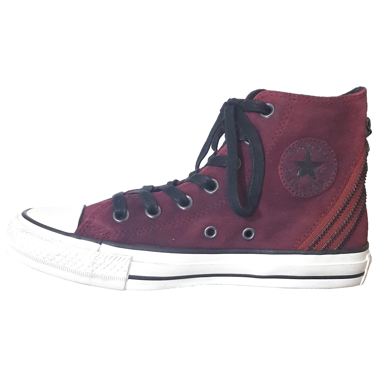 Converse \N Burgundy Suede Trainers for Women 4 UK