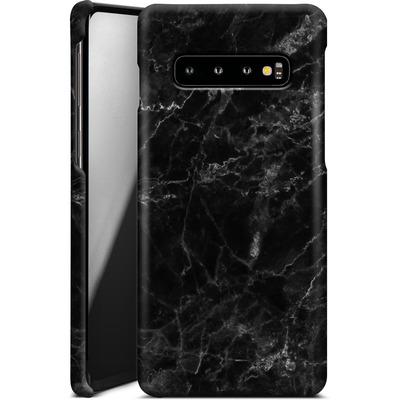 Samsung Galaxy S10 Smartphone Huelle - Midnight Marble von caseable Designs
