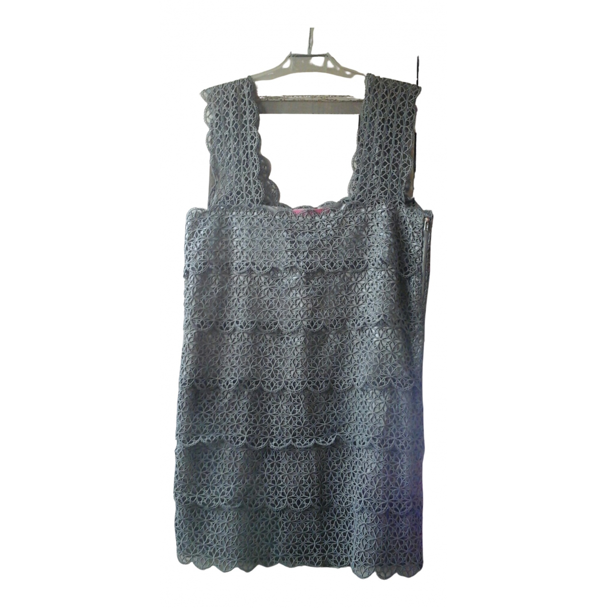 Manoush \N Kleid in  Grau Synthetik