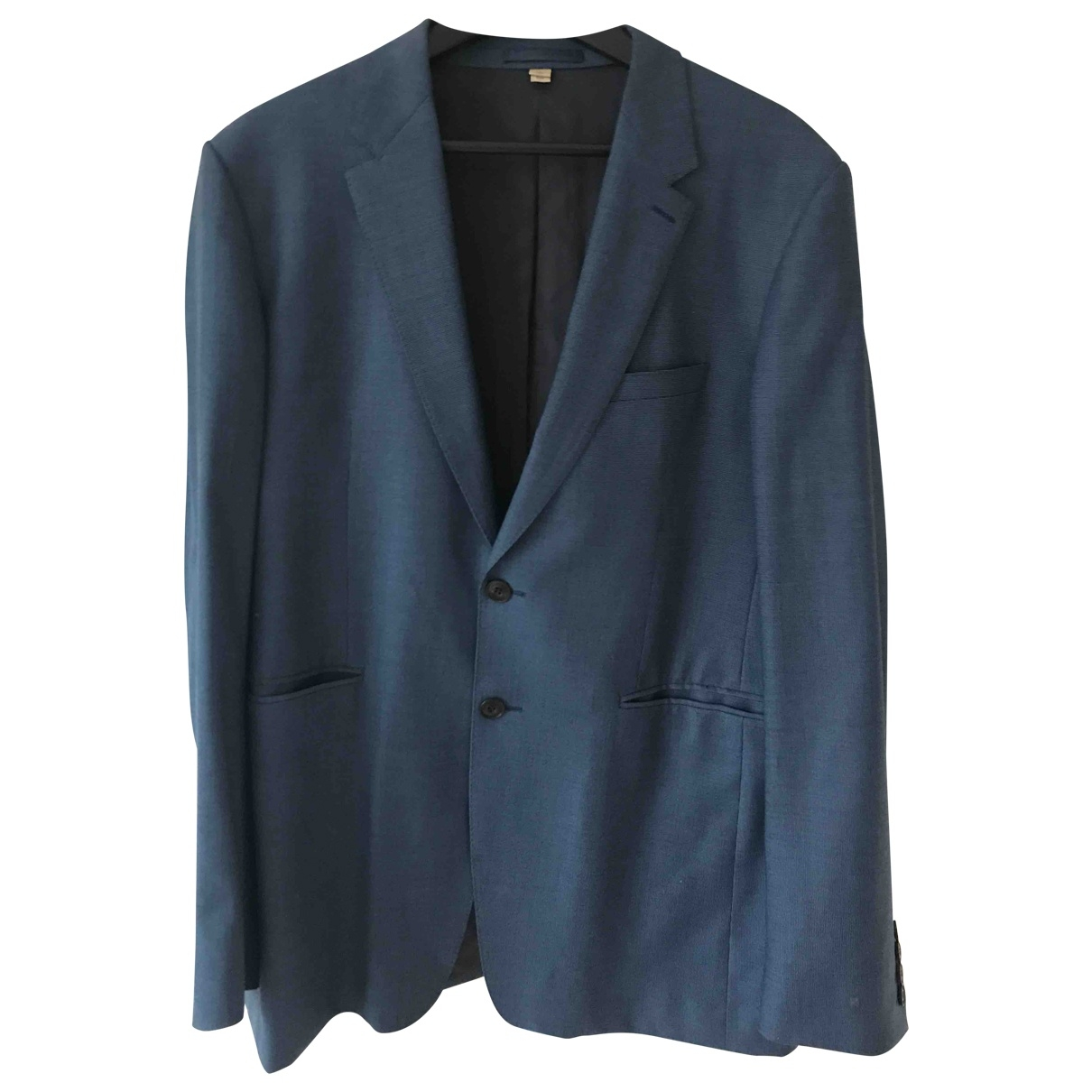Burberry \N Navy Wool Suits for Men L International