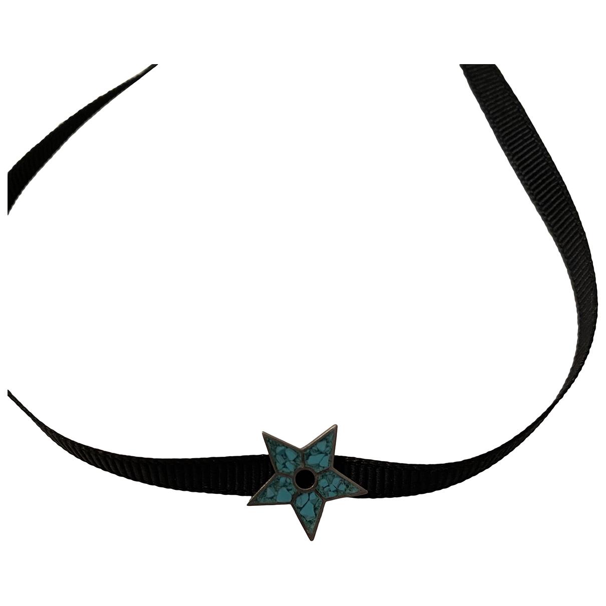 Dior - Collier   pour femme en metal - turquoise
