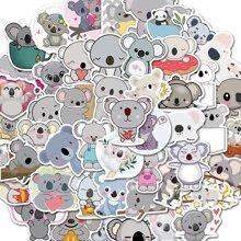 50 piezas pegatina con patron de dibujos animados