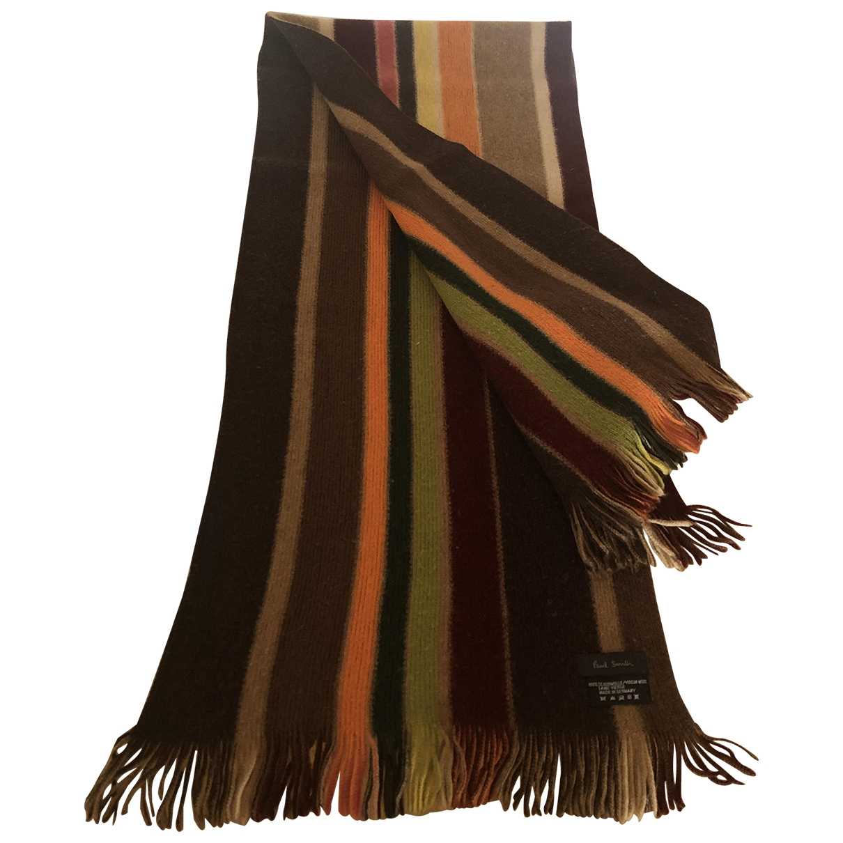 Paul Smith \N Camel Wool scarf for Women \N