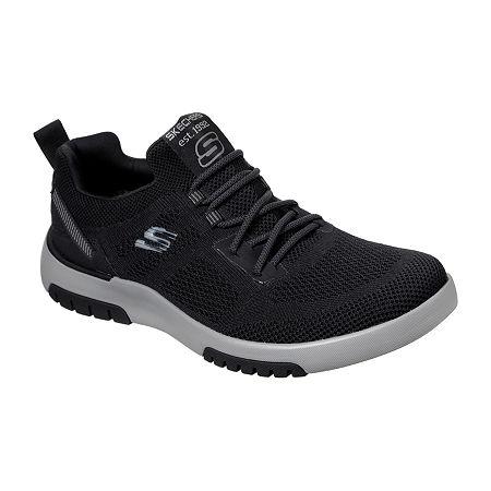 Skechers Mens Bellinger 2.0-Coren Slip-On Shoe, 8 1/2 Medium, Black