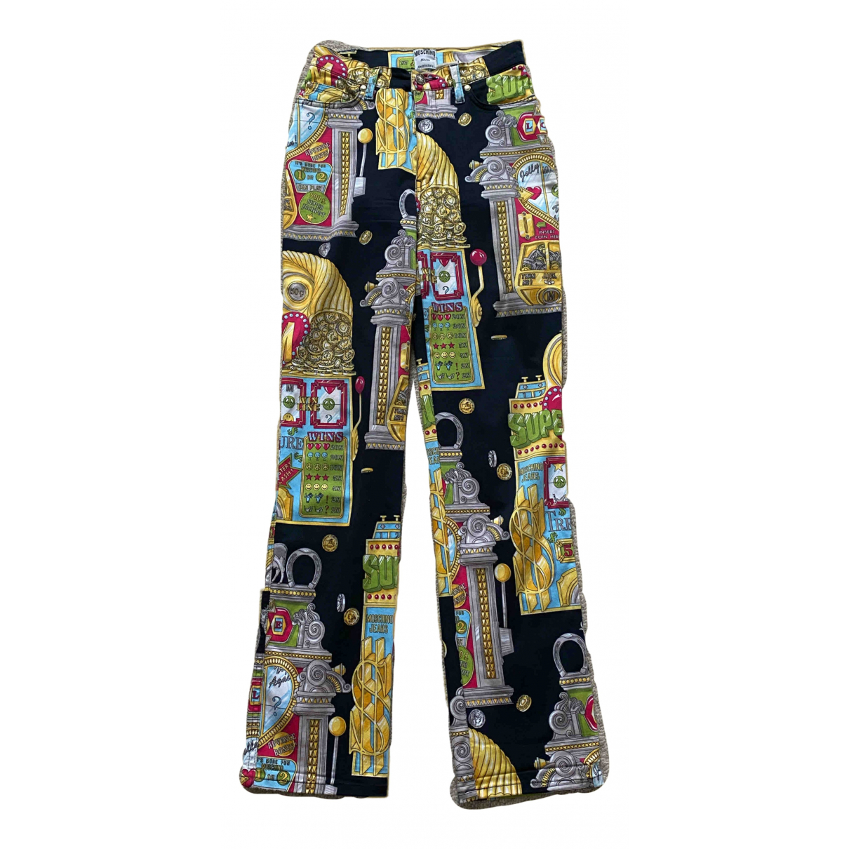 Moschino Cheap And Chic - Pantalon   pour femme en coton - multicolore