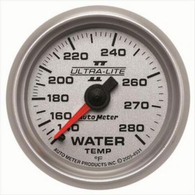 Auto Meter Ultra-Lite II Mechanical Water Temperature Gauge - 4931