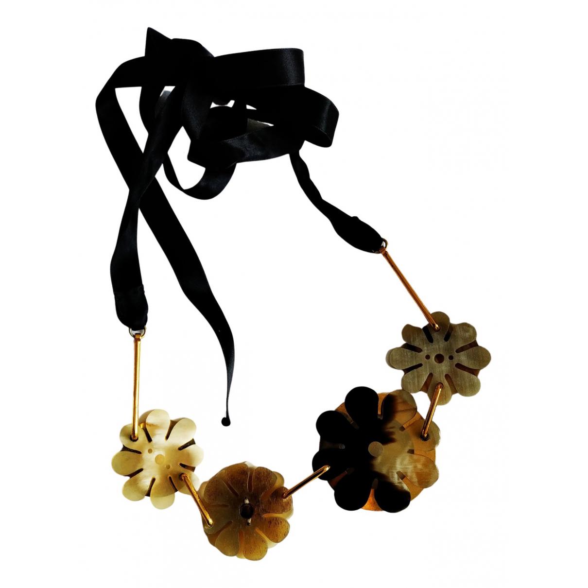 Marni N Beige Metal necklace for Women N