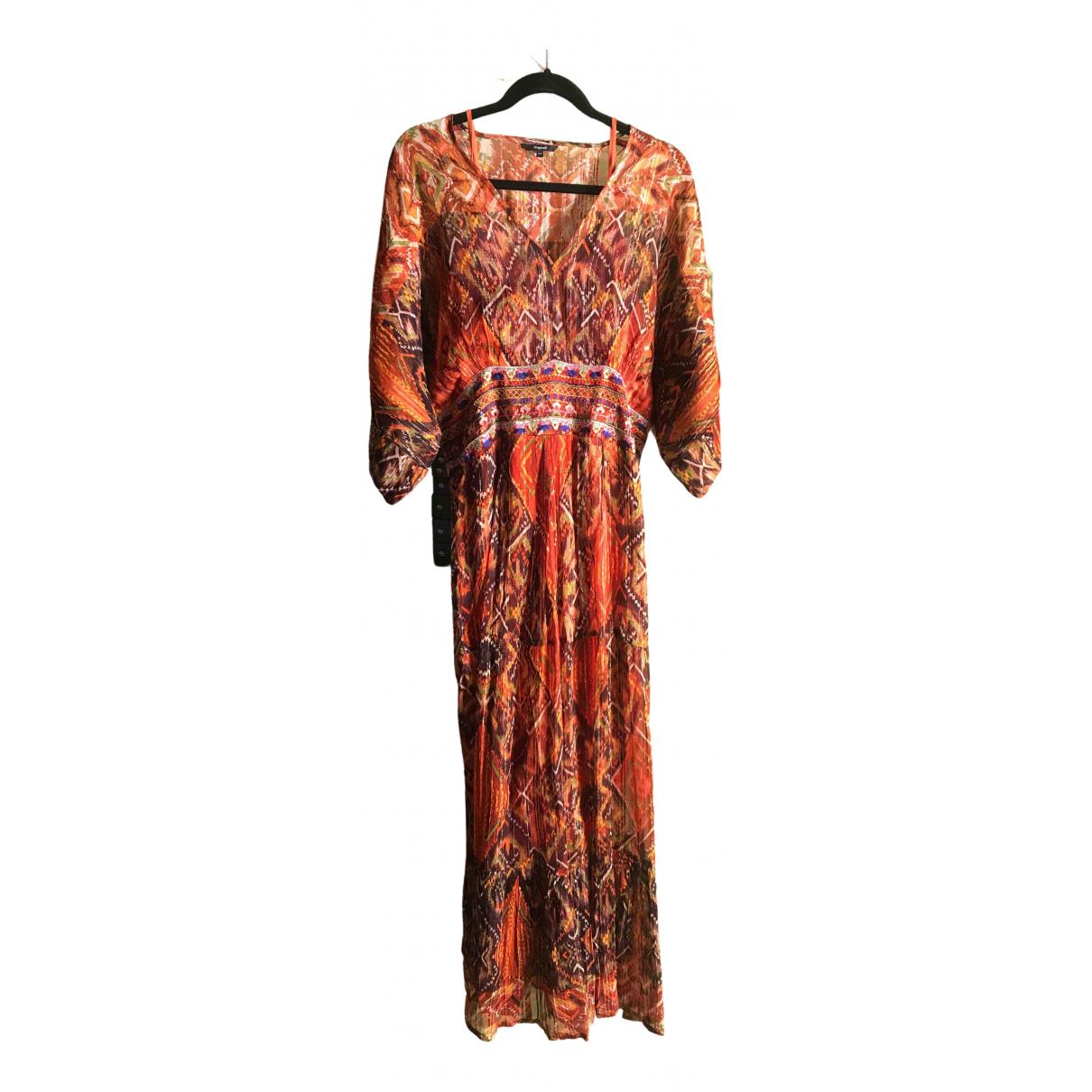 Desigual \N Kleid in  Orange Viskose