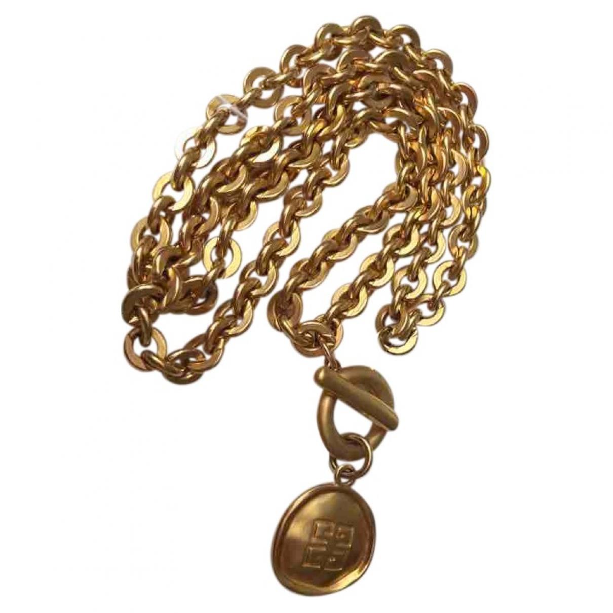 Givenchy - Collier   pour femme en metal - dore