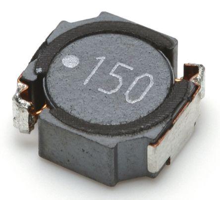 TDK Shielded Wire-wound SMD Inductor 15 μH ±20% Wire-Wound 3.5A Idc (5)