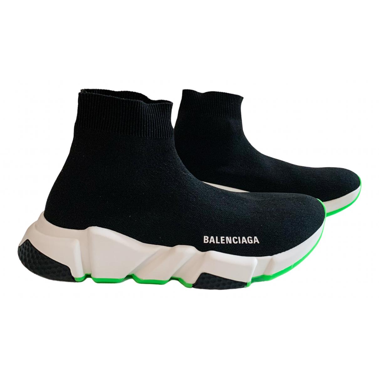 Balenciaga Speed Black Cloth Trainers for Women 41 EU