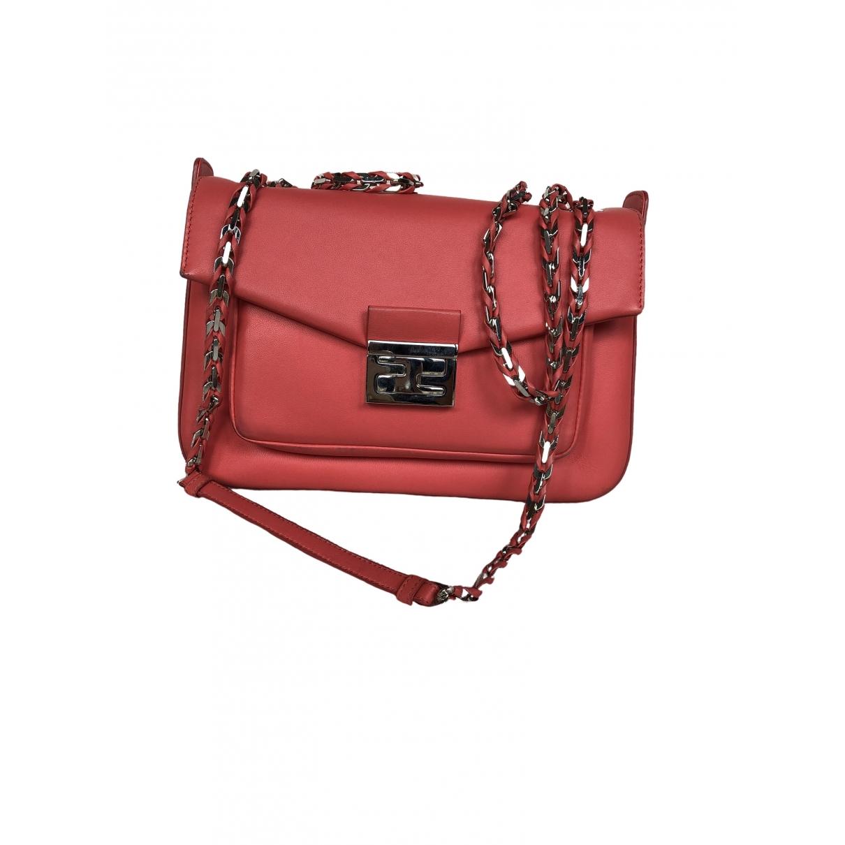 Fendi Baguette Pink Leather handbag for Women \N