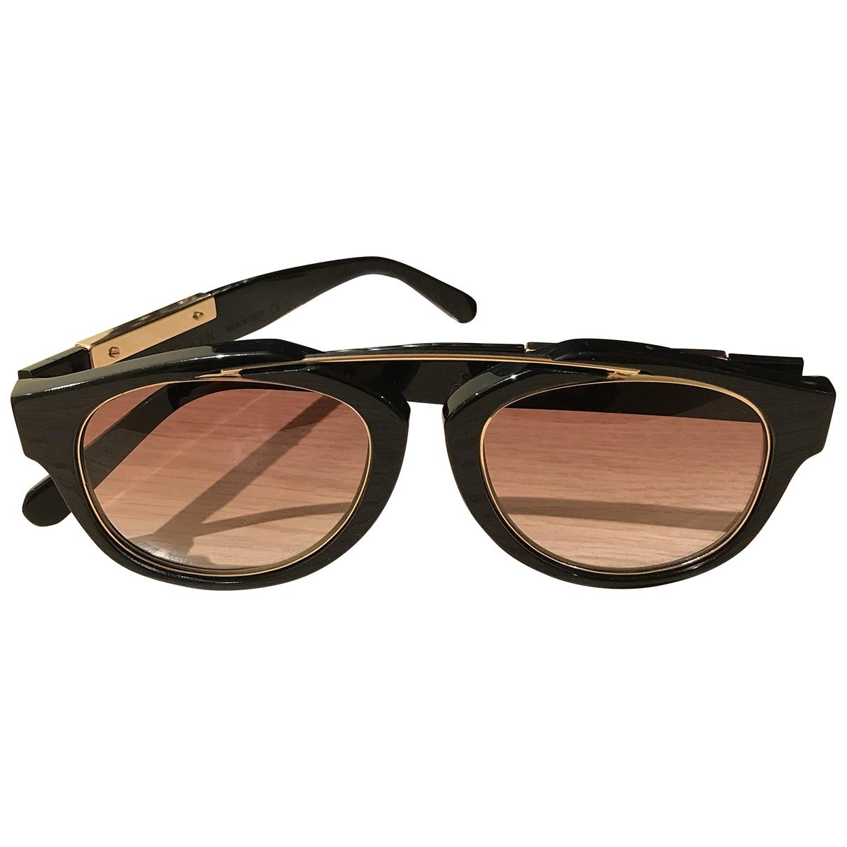 Philipp Plein \N Black Sunglasses for Men \N