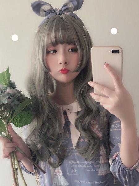 Milanoo Sweet Lolita Wigs Long Heat Resistant Fiber Lolita Hair Wig