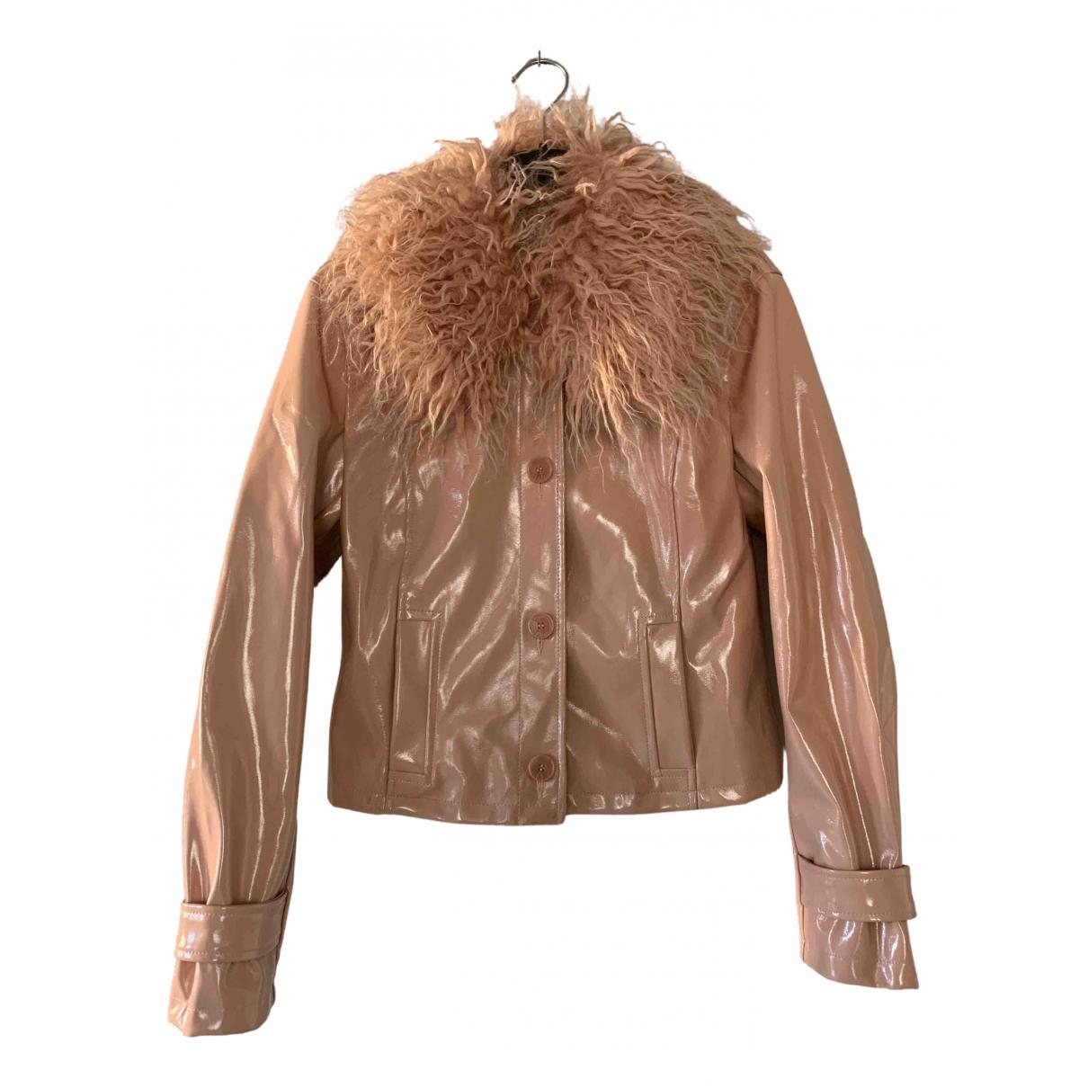Topshop - Manteau   pour femme - rose