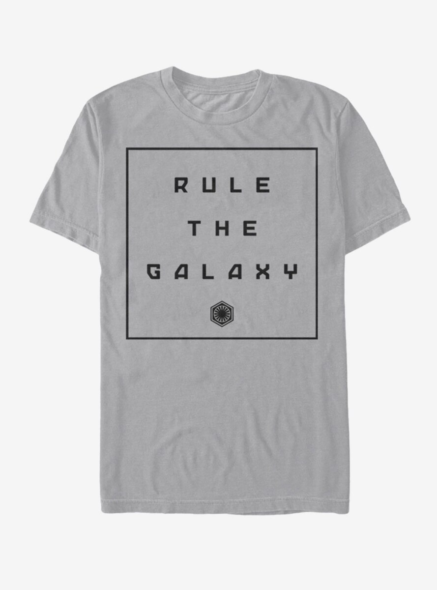 Star Wars The Force Awakens Rule the Galaxy T-Shirt
