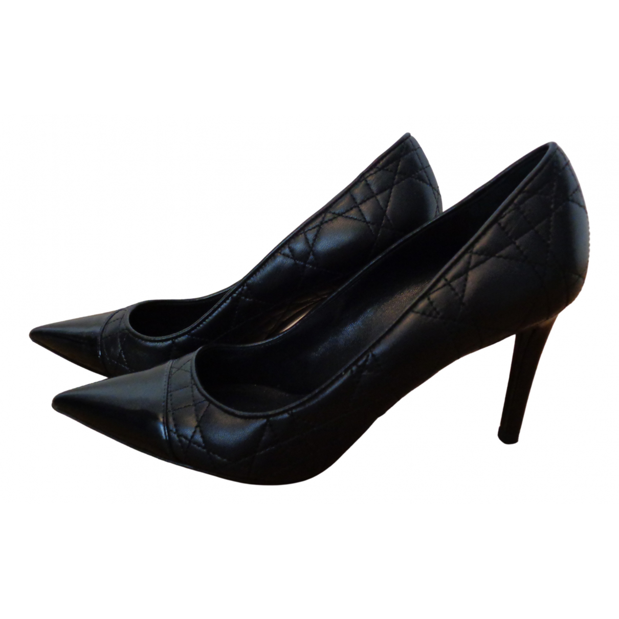 Dior Dior Cherie Pointy Pump Pumps in  Schwarz Leder