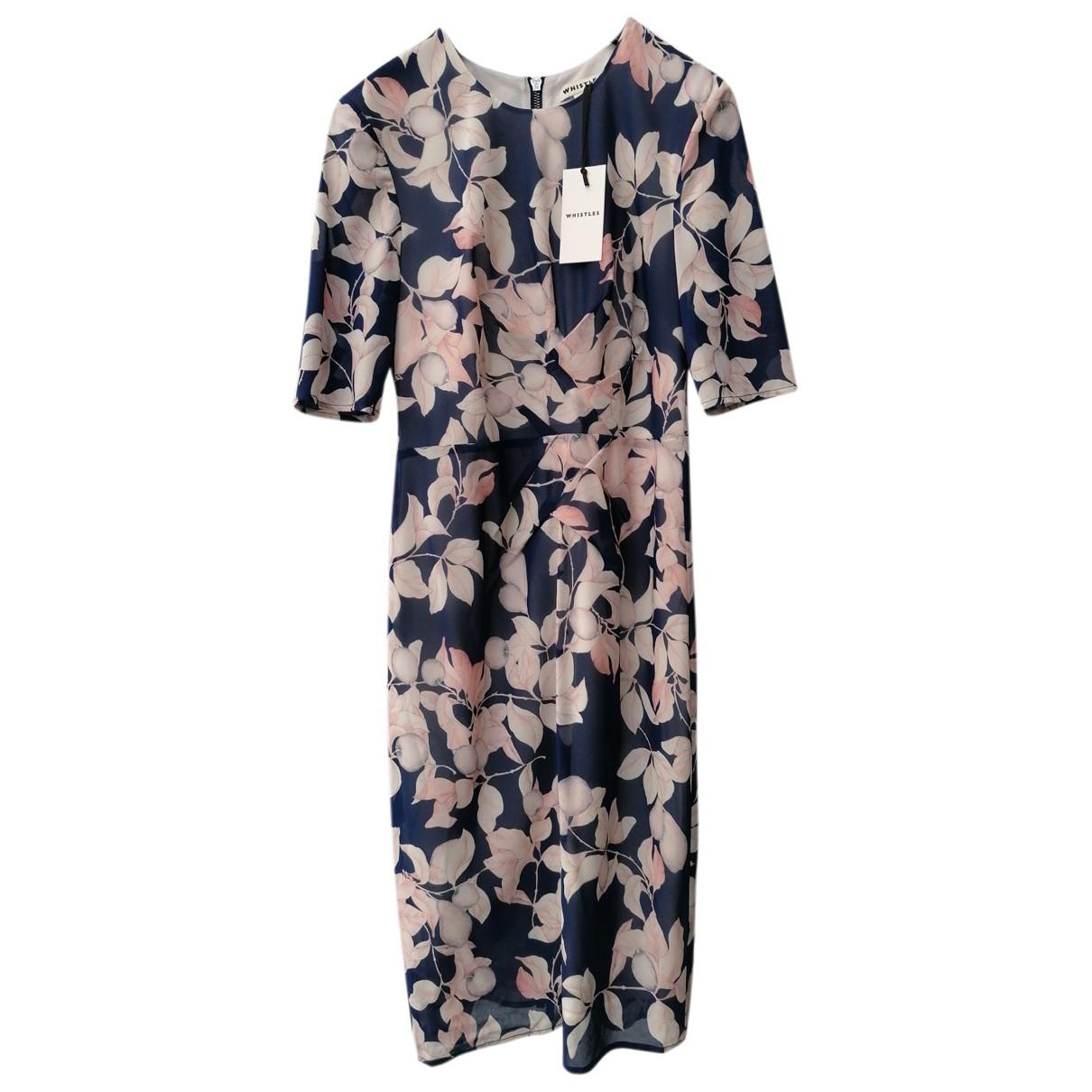 Whistles N Multicolour Silk dress for Women 10 UK