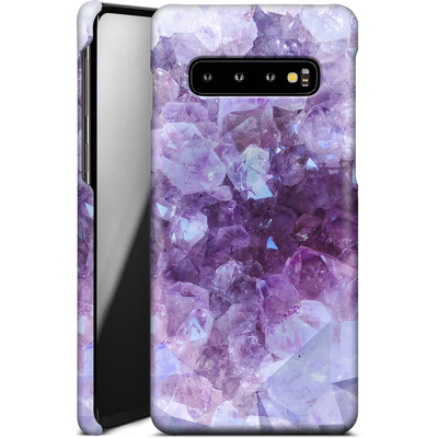 Samsung Galaxy S10 Smartphone Huelle - Light Crystals von Emanuela Carratoni