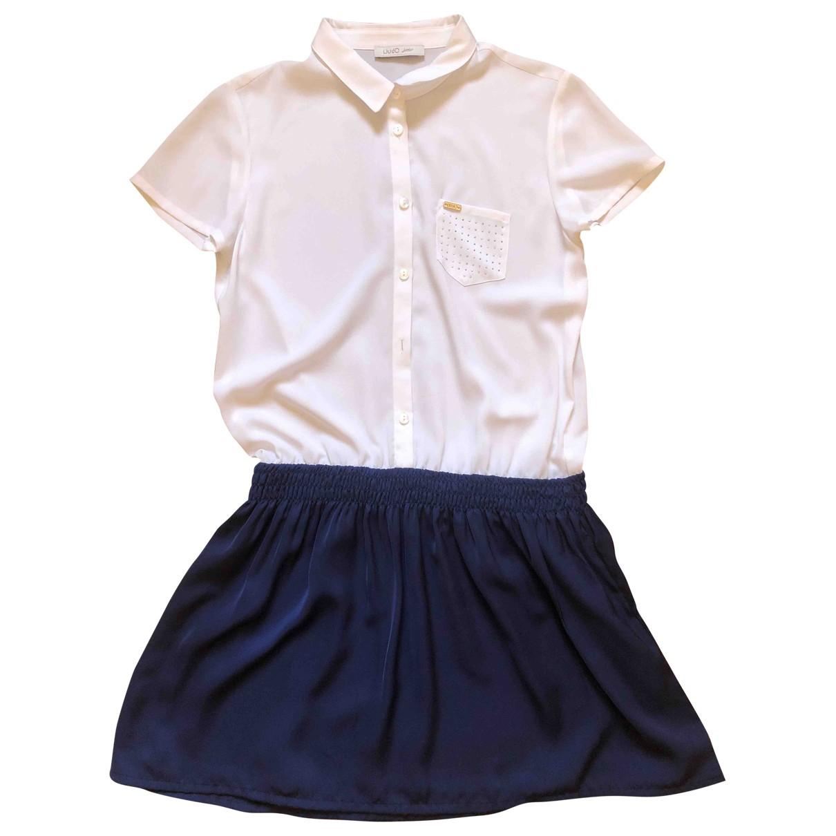 Liu.jo \N Kleid in  Blau Polyester