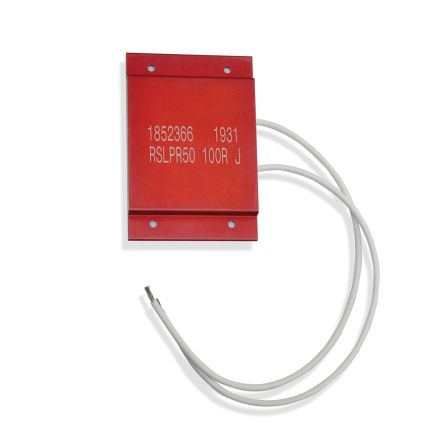 RS PRO Wire Lead Wire Wound Panel Mount Resistor, 100Ω ±5% 50W