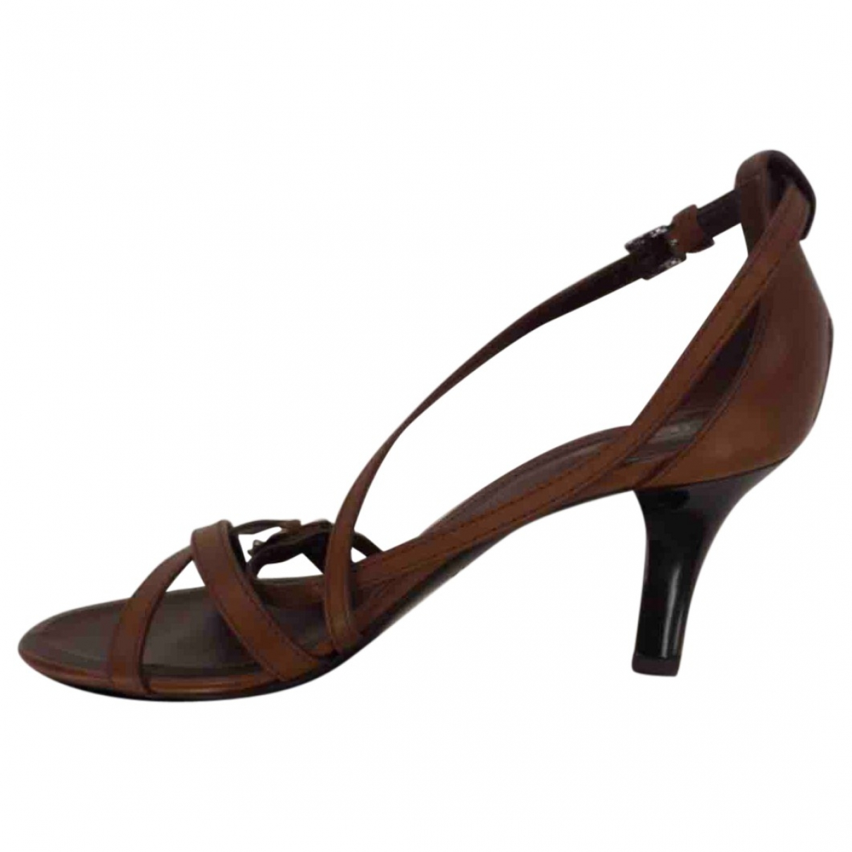 Tod's \N Brown Leather Sandals for Women 38 IT