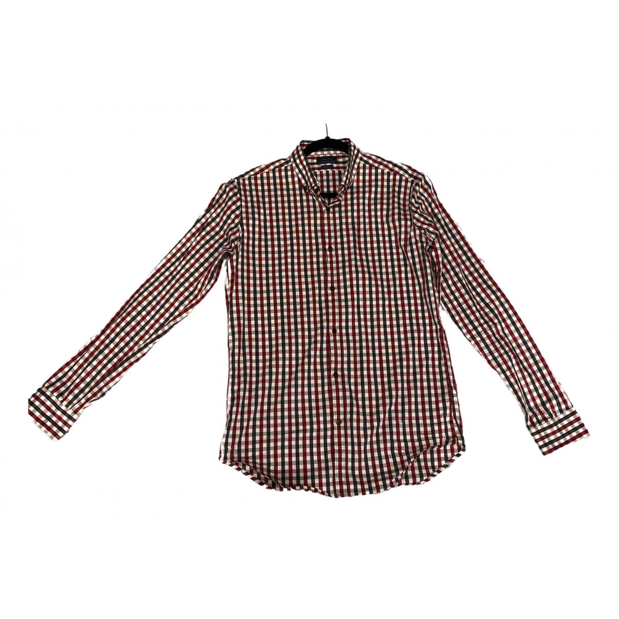 Zara - Chemises   pour homme en coton - multicolore