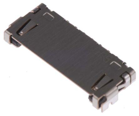 Hirose , DF19, 8 Way, 1 Row, Right Angle PCB Header (5)