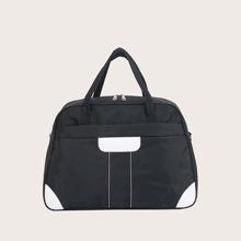 Two Tone Travel Bag