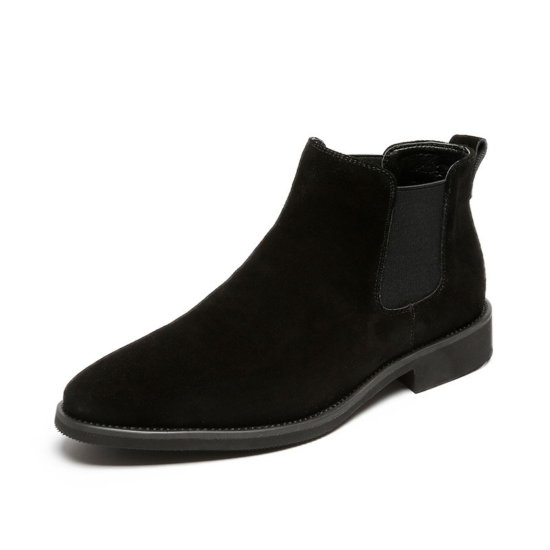 Ericdress Round Toe Slip-On Plain PU Boots