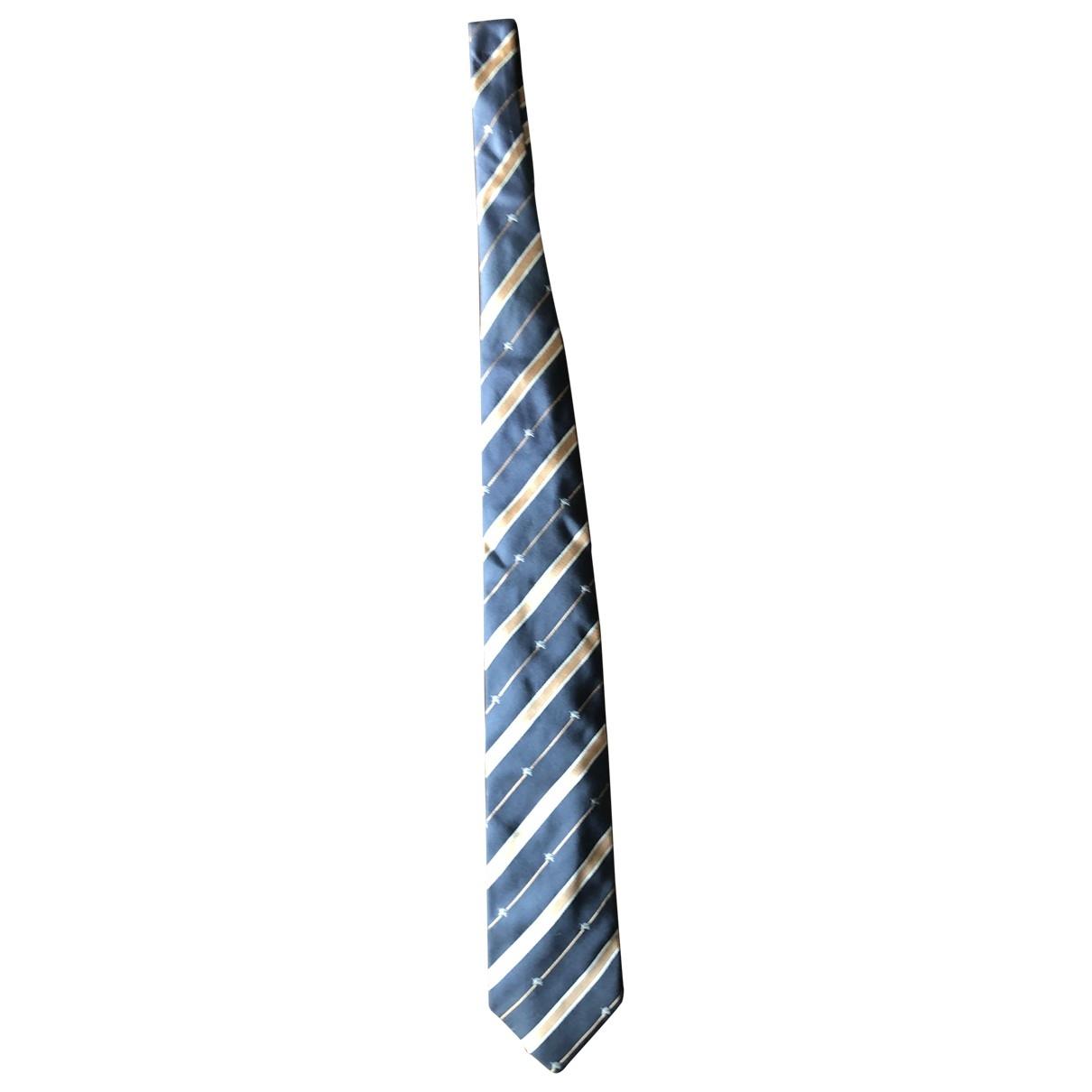 Burberry \N Krawatten in  Schwarz Seide