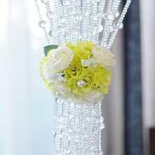 1pc Artificial Flower Design Curtain Tieback