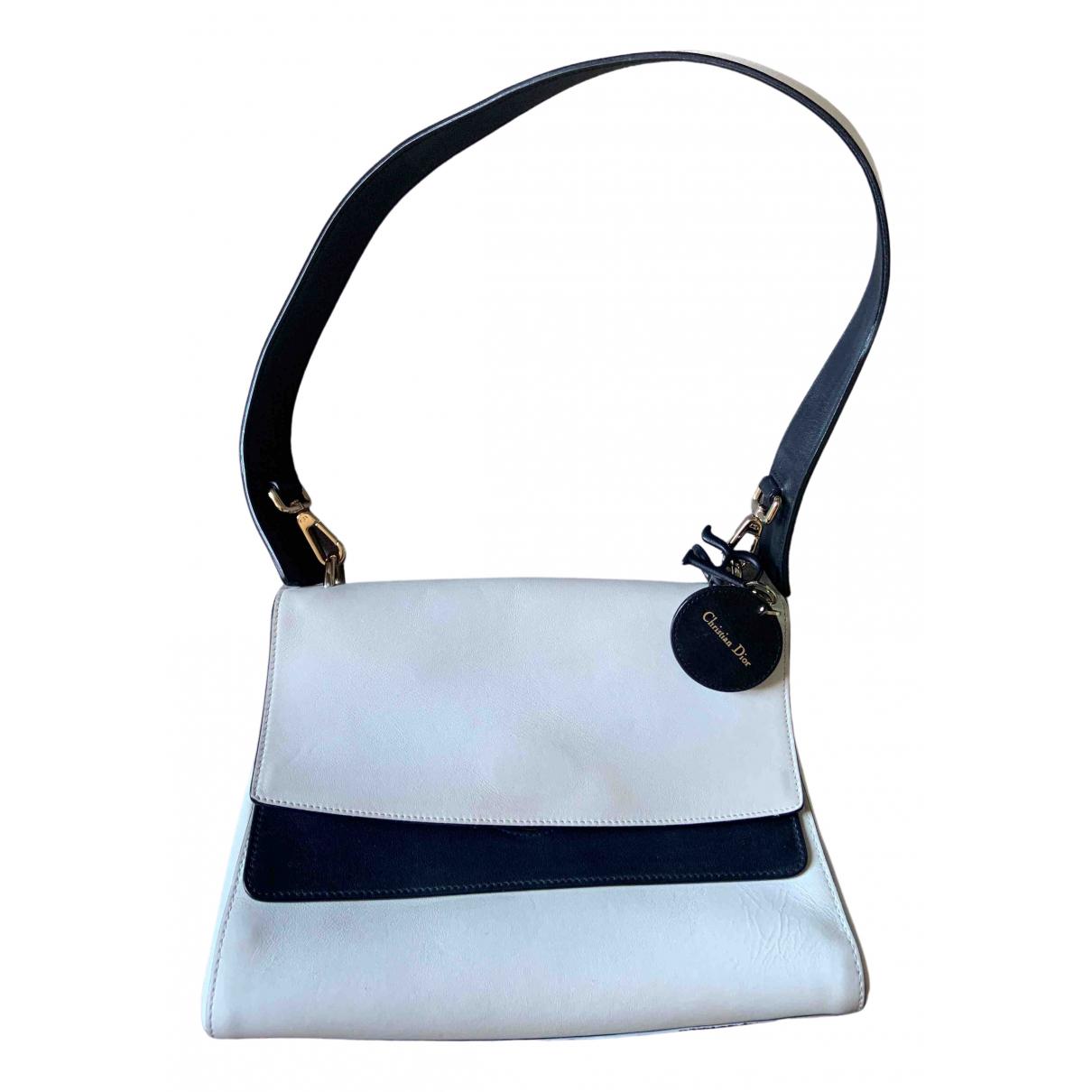 Dior Be Dior White Leather handbag for Women \N