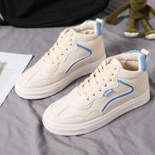 High Top Lace-up Front Sneakers